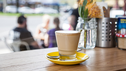 Yellow Espresso, Goldfields, Victoria, Australia