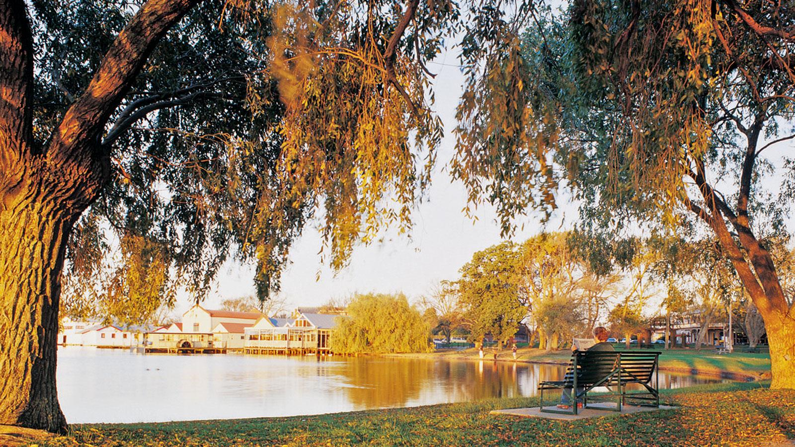 Lake Wendouree, Ballarat, Goldfields, Victoria, Australia