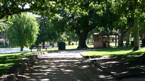 Alexandra Gardens, Grampians, Victoria, Australia