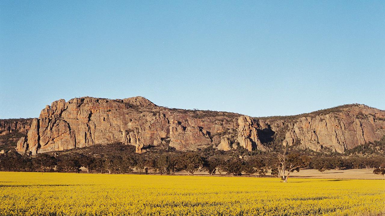 Mt Arapiles, Grampians, Victoria. Australia