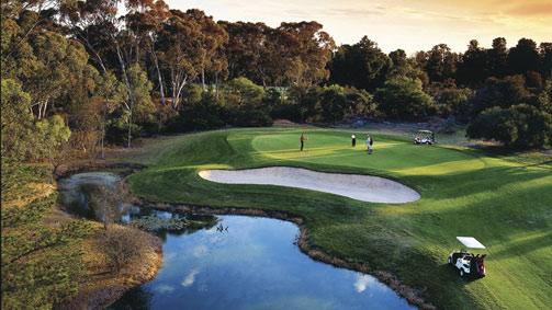 Horsham Golf Course, Grampians, Victoria, Australia