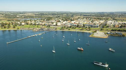 Port of Portland, Great Ocean Road, Victoria, Australia