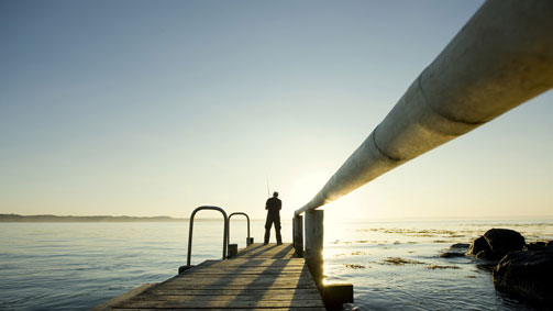 Fishing, Cape Bridgewater, Great Ocean Road, Victoria, Australia