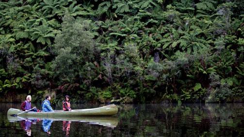 Canoeing, Otway National Park, Great Ocean Road, Victoria, Australia