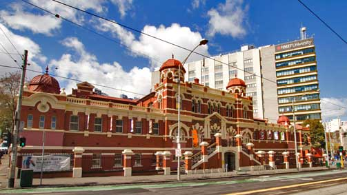 Melbourne City Baths, Melbourne, Victoria, Australia