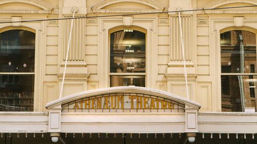Athenaeum Theatre, Melbourne, Victoria, Australia. Image: Roberto Seba