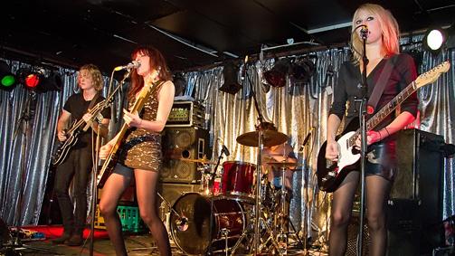 Kicks, Ding Dong Lounge,  Melbourne, Victoria, Australia. Image: Carbie Warbie