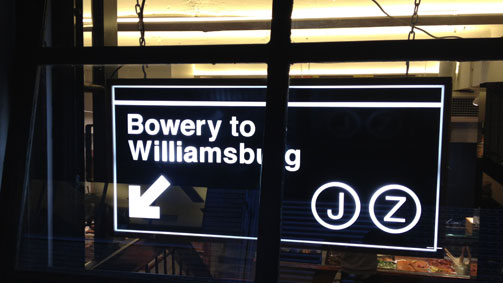 Bowery To Williamsburg, Melbourne, Victoria, Australia