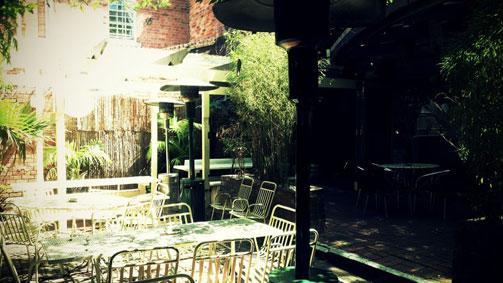 Fitzroy Beer Garden, Melbourne, Victoria, Australia