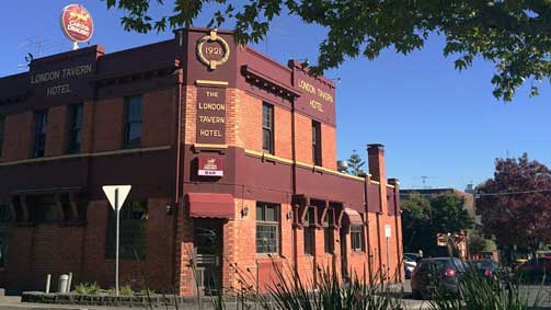London Tavern Hotel, Richmond, Melbourne, Victoria, Australia