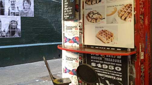 Waffle On, Melbourne, Victoria, Australia
