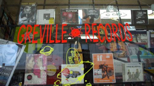 Greville Records, Prahran, Melbourne, Australia