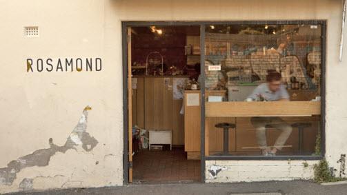 Cafe Rosamond, Collingwood, Victoria, Australia