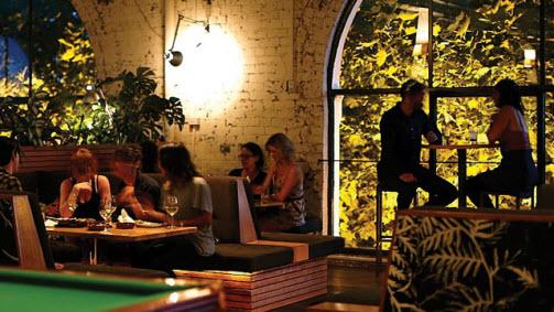 Panama Dining Room  Collingwood  Victoria  Australia. Panama Dining Room  Food and Wine  Melbourne  Victoria  Australia