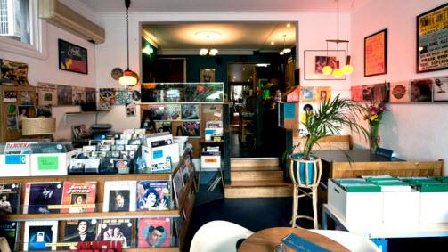 White Rabbit Record Bar, Kensington, Victoria, Australia