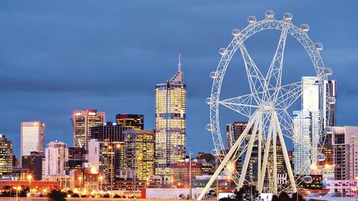 Melbourne Star Observation Wheel, Docklands, Melbourne, Victoria, Australia