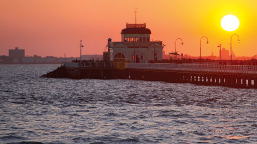St Kilda pier, Melbourne, Victoria, Australia