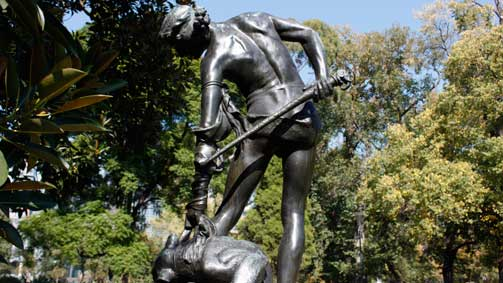 Carlton Gardens, Melbourne, Victoria, Australia