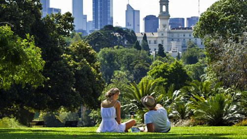 Royal Botanic Gardens, Melbourne, Victoria, Australia