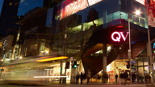 QV Shopping Centre, Melbourne, Victoria, Australia