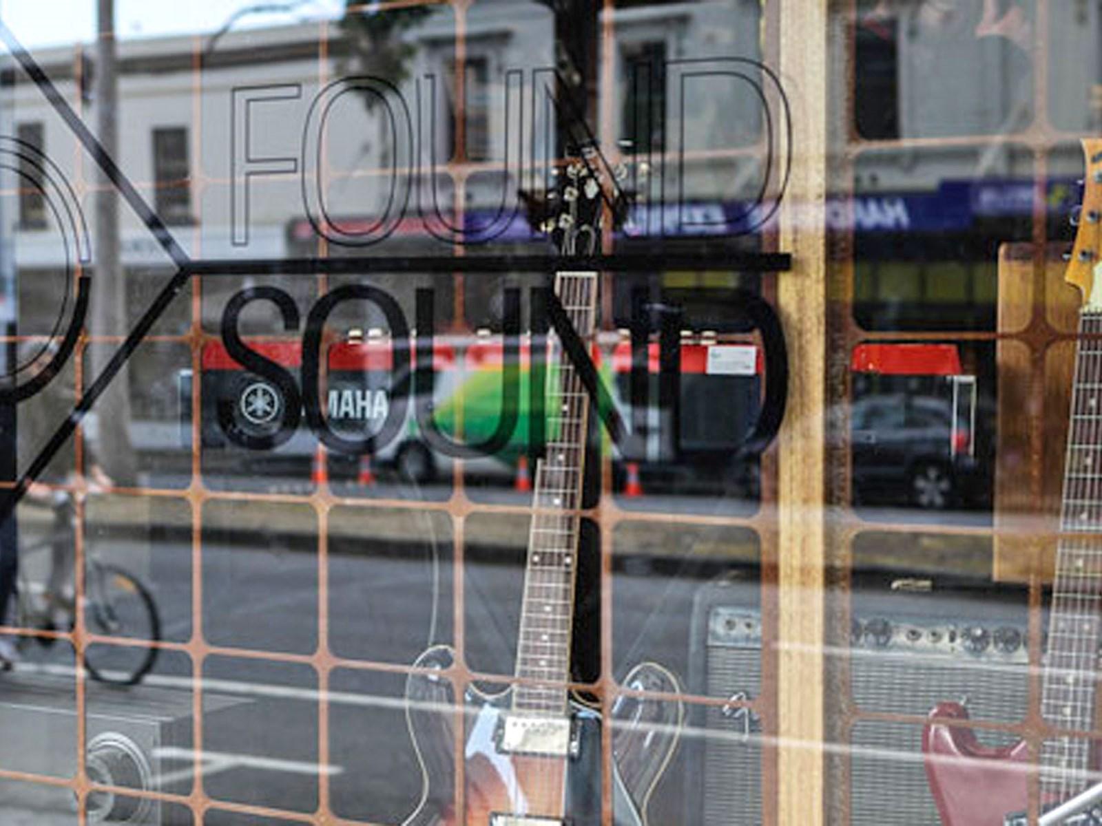 Found Sound, Carlton, Melbourne, Victoria, Australia