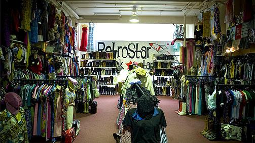 RetroStar Vintage Clothing, Melbourne, Victoria, Australia