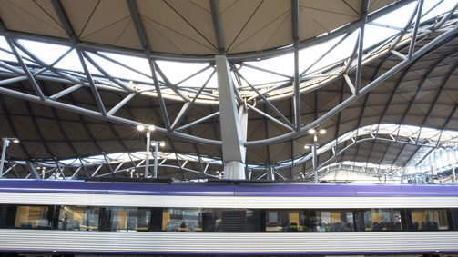 Southern Cross Station, Melbourne, Victoria, Australia