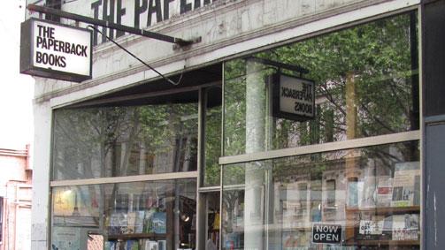 The Paperback Bookshop, Melbourne, Victoria, Australia