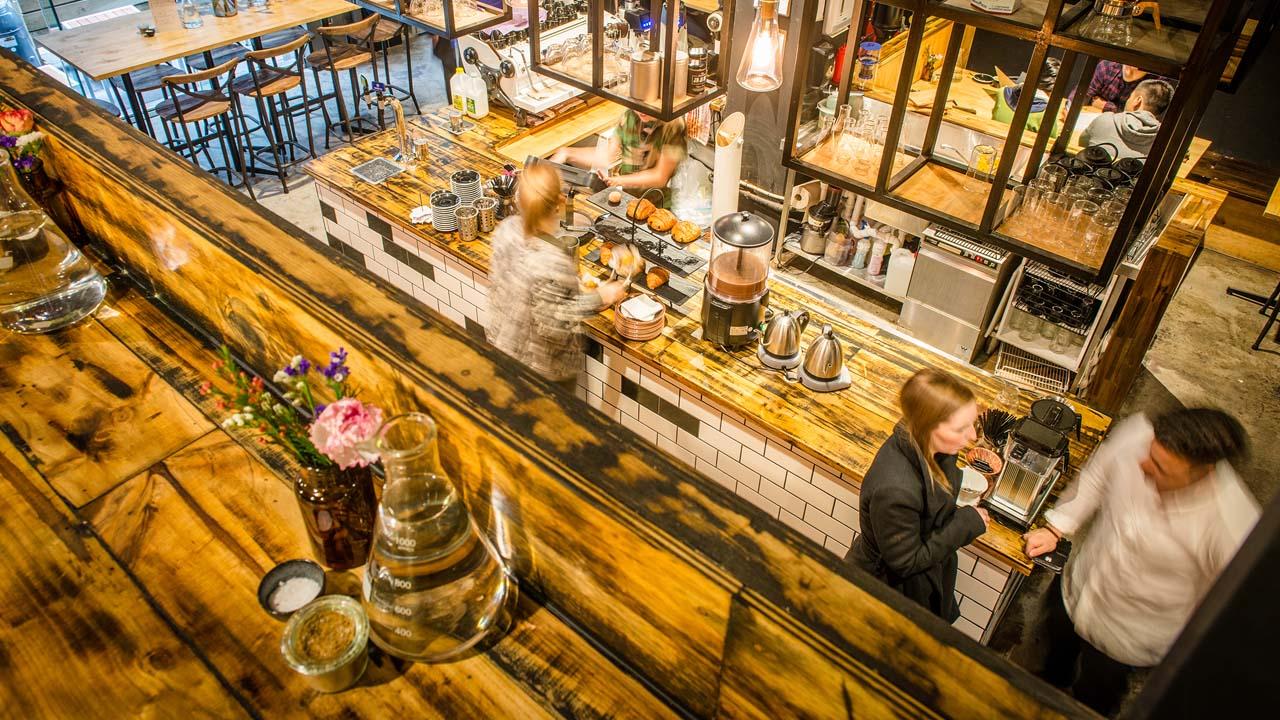 Hash Specialty Coffee & Roastery, Melbourne, Victoria, Australia
