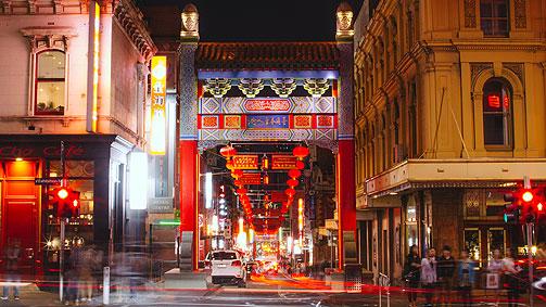 chinatown little bourke st, melbourne