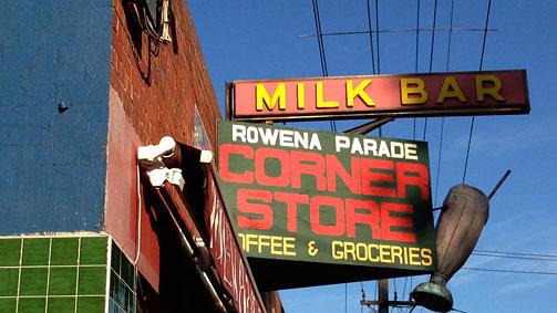 Rowena Parade Corner Store, Richmond, Melbourne, Victoria, Australia