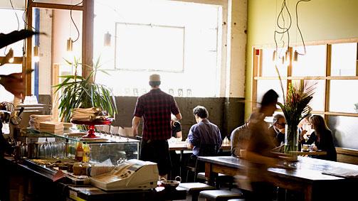 St Ali café, South Melbourne, Victoria, Australia