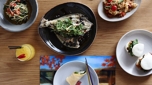 Lucy Liu Kitchen and Bar, Melbourne, Victoria, Australia