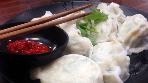 Dumplings at Shandong Mama, Melbourne, Victoria, Australia