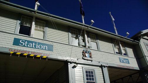 Station Pier, Melbourne, Victoria, Australia