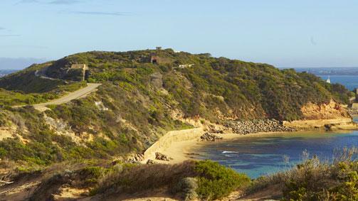 Point Nepean, Mornington Peninsula, Victoria, Australia