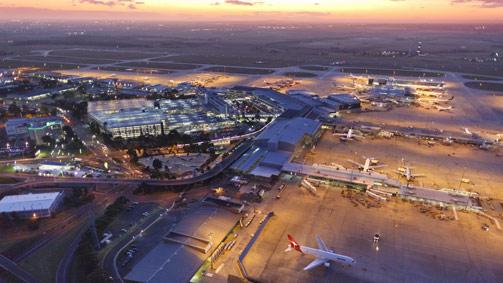 Melbourne Airport, Tullamarine, Melbourne, Australia