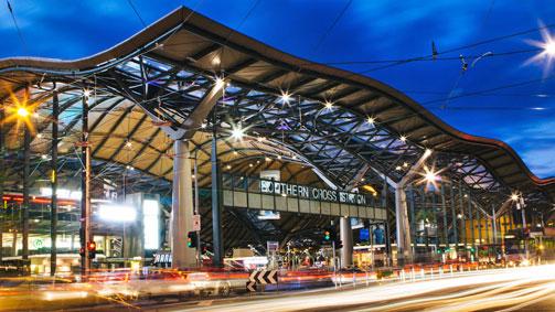 Southern Cross Station, Melbourne, Victoria, Australia. Image: Roberto Seba