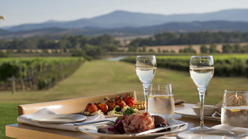 Domaine Chandon, Yarra Valley and Dandenong Ranges, Victoria, Australia. Image: Tourism Australia