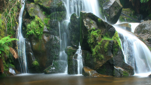 Keppel Falls, Yarra Valley and Dandenong Ranges, Victoria, Australia