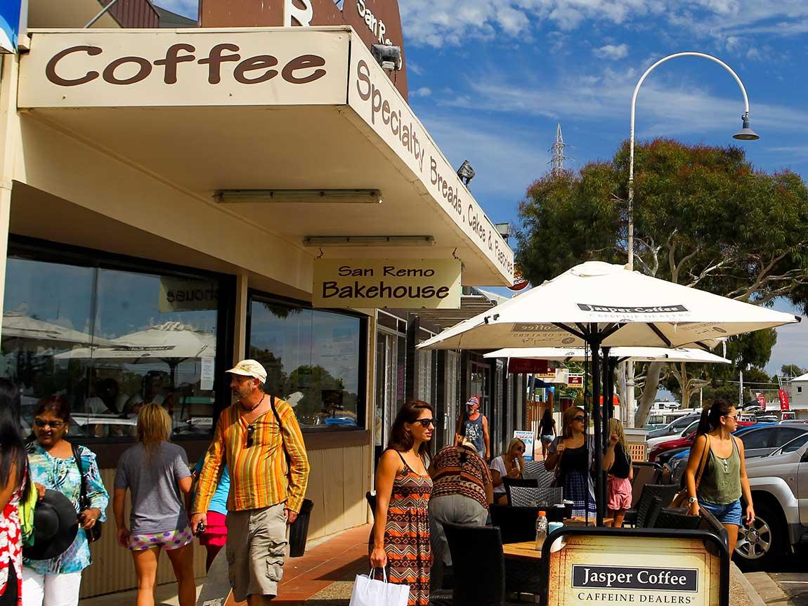 San Remo Bakehouse, Phillip Island, Victoria, Australia