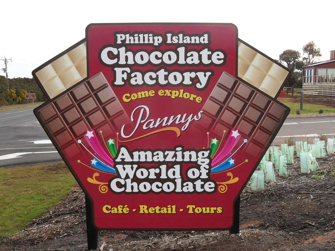 Panny's Chocolate Factory, Phillip Island, Victoria, Australia