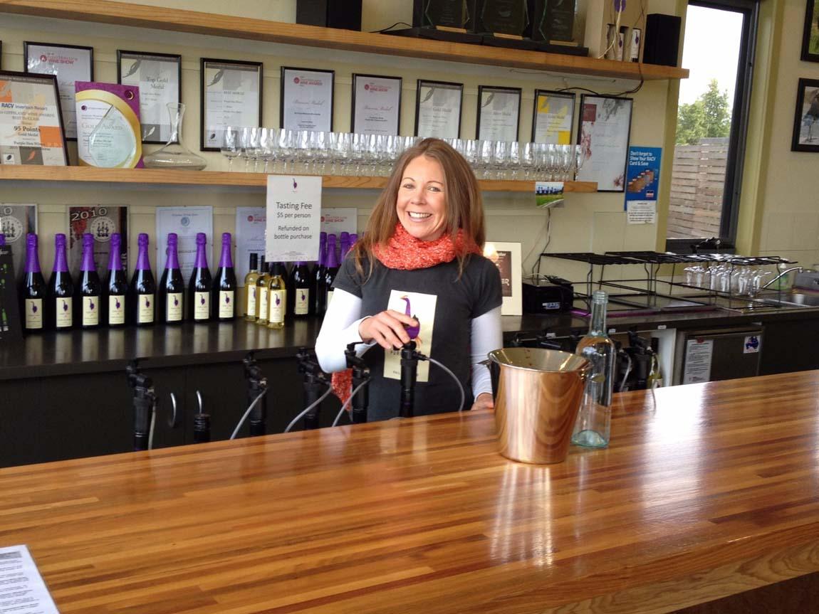 Purple Hen Winery, Phillip Island, Victoria, Australia