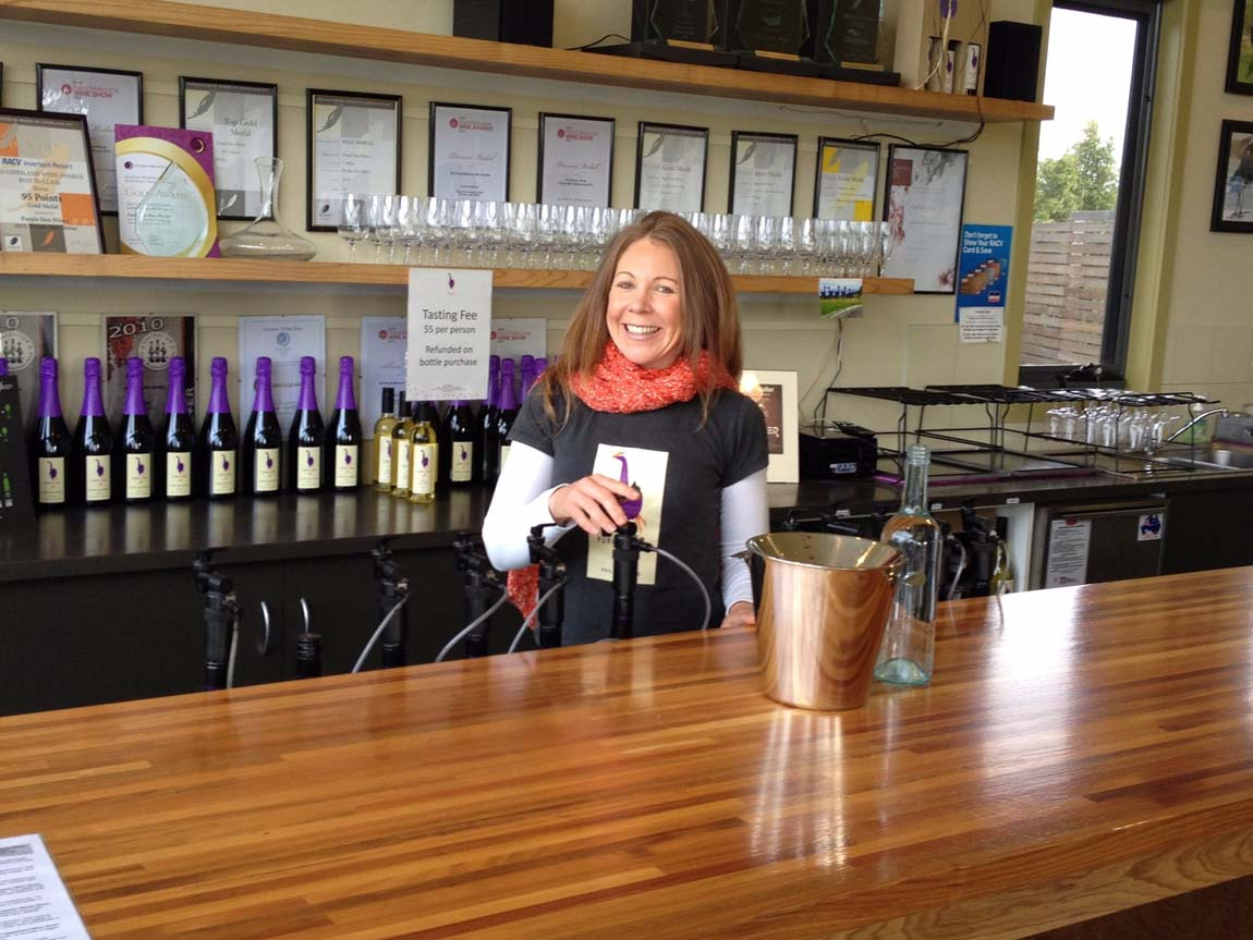 Purple Hen Winery, Phillip Island, Victoria, Australia