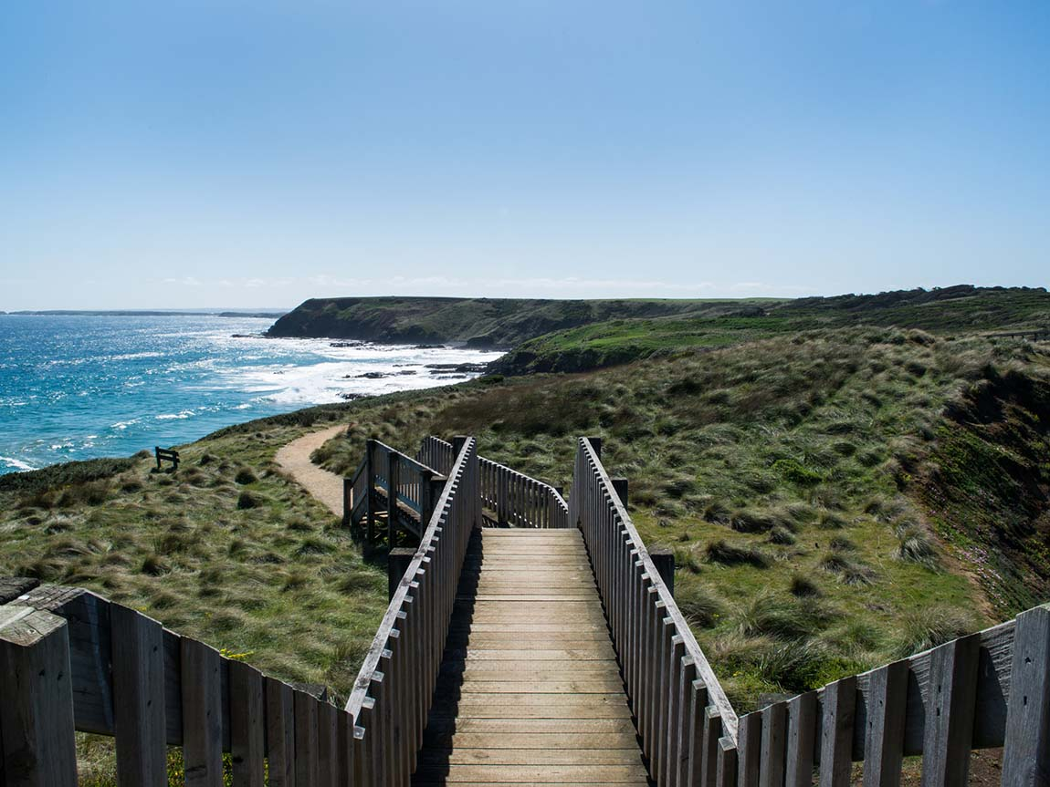Coastline, Phillip Island, Victoria, Australia