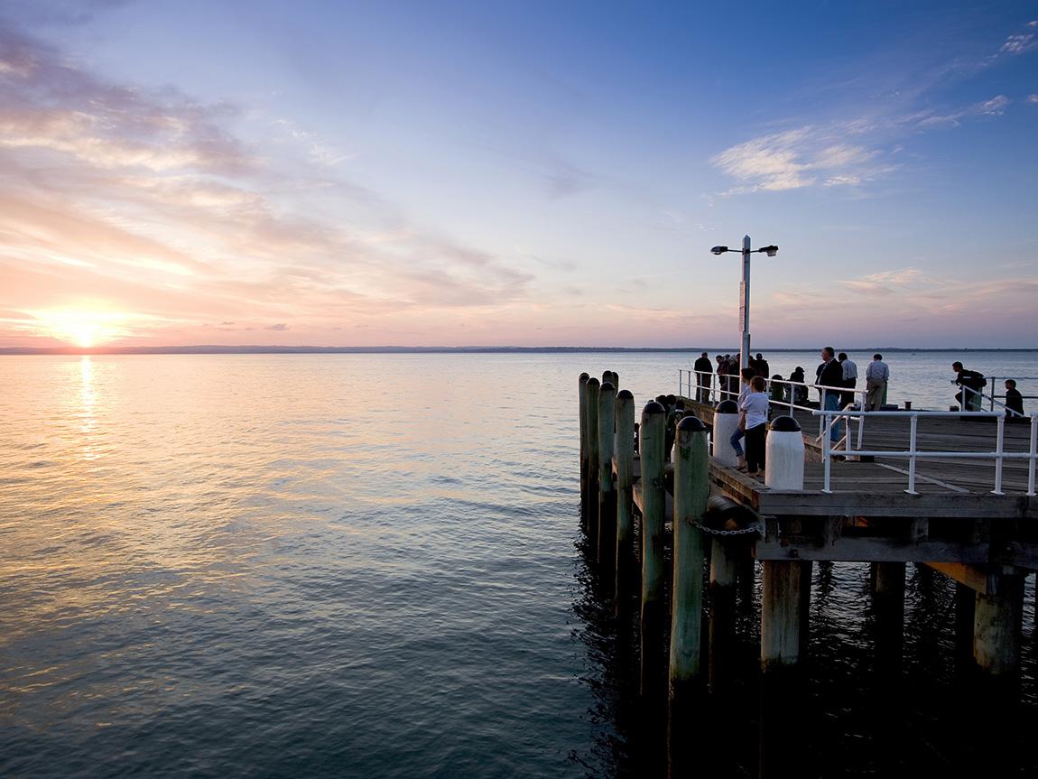 Cowes Pier Sunset, Phillip Island, Victoria, Australia