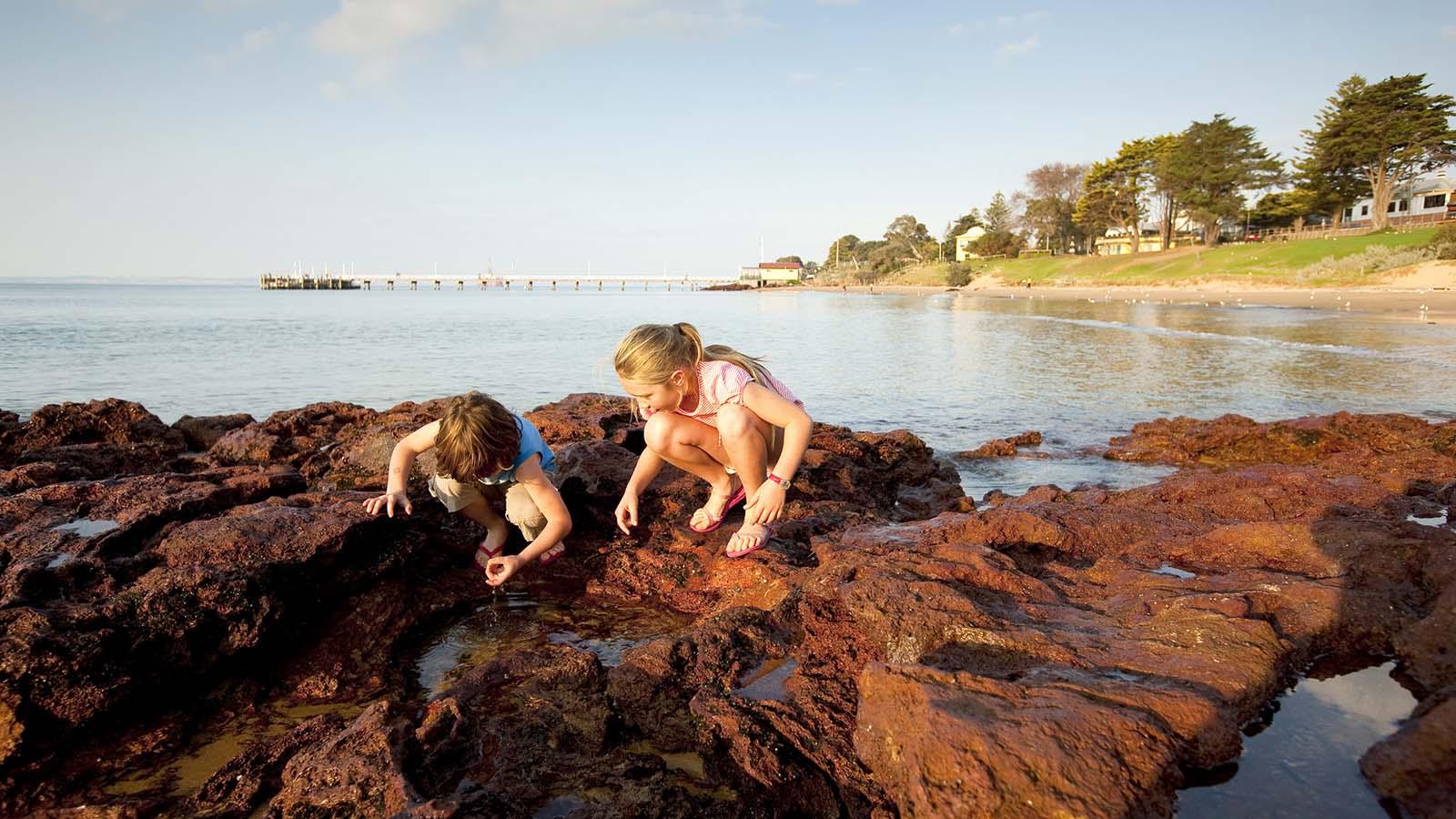 Red Rocks, Cowes foreshore, Phillip Island, Victoria, Australia