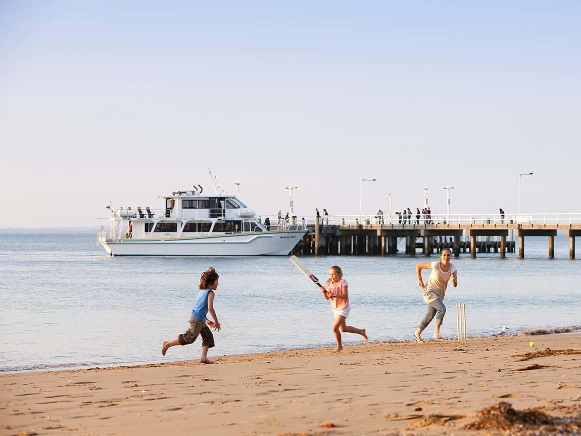 Cowes foreshore, Phillip Island, Victoria, Australia