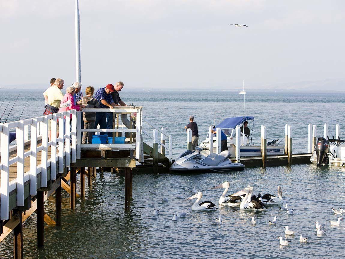Newhaven Pier, Phillip Island, Victoria, Australia