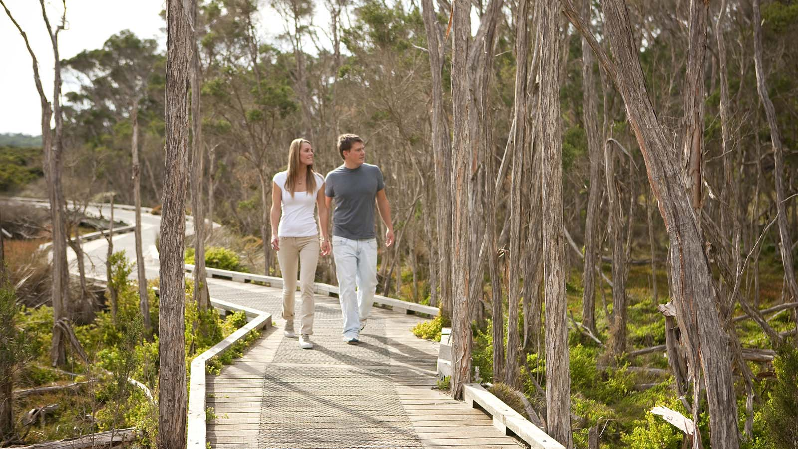 Bush To Bay Walk Phillip Island